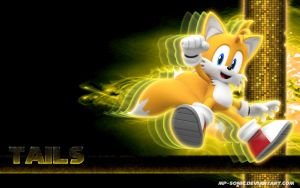 Tails - Wallpaper by MP-SONIC