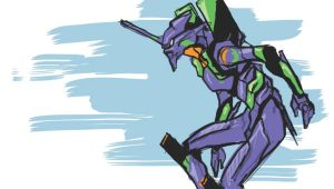 Eva Unit 01 by THEkidNurCLOSET