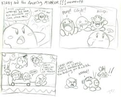 Kirby and the Amazing Morons by greliz