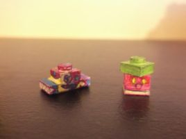 LEGO Pokemon: Bruxish and Bounsweet