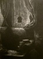 winter night by Blue-MonsterOwO