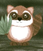 raccoon by lc0218