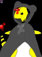 Assanine the magical Ampharos by BackOffEdsMine