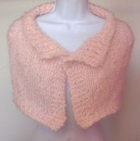 Fluffy Pink Capelet by ChezMichelle