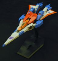 Starscream Arios Jet by Shinobitron