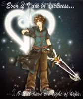 Denzel: Kingdom Hearts concept by Cocotail