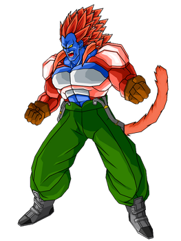 SSJ4 Super Android 13 by SpinoInWonderland