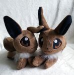 Eevee Inspired plush for sale! by zukori