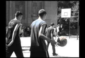Streetball players.. by winter-angel