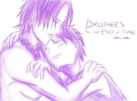 Brothers Till The End Of Time by EzariaUmiko