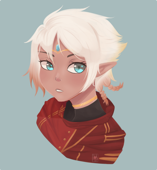 [EI] Painted Mal Bust by Peapup