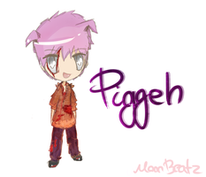 Chibi Piggeh by MoonBeatz