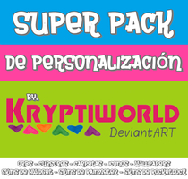+Pack de personalizacion by kryptiworld