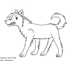 Angered Wolf by Cintronus