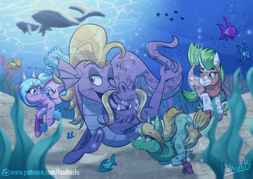 Chat Under The Sea by InuHoshi-to-DarkPen