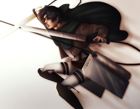Don't mess with Heichou by RedWyvern