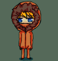 Short Kenny doodle. by DaRainbowGurl