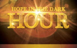 Hope in the Dark Hour Church Flyer Template by loswl