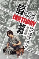 Obituary Comic cover by ronsalas