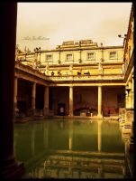 Roman Baths by AirInMotion