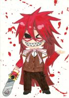 Grell Chibi-Copic Markers by sisteroftheflame