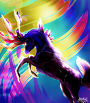 Xerneas by 9tailsfoxyfoxy