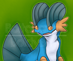 Swampert by Boltonartist