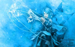 Aqua -Kingdom Hearts: BbS- BG by maha-kun