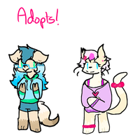 Anthro Adopts ((price lowered)) by trashbutt