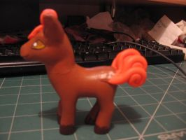 Vulpix Clay custom pony side by sazmullium