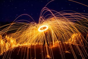 Steel Wool Lasso by CumbriaCam