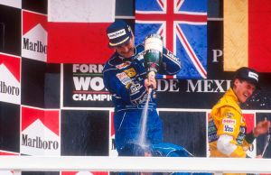 Nigel Mansell | Michael Schumacher (Mexico 1992) by F1-history