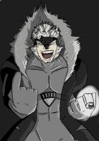 Black Lantern Sabretooth by KKal