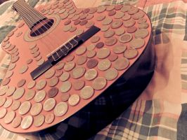 My Customized Guitar by Youcef07