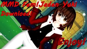 [MMD] Fem!Jaden Yuki ~DOWNLOAD!~ by courtcook99
