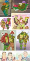 tmnt log 5 by LinART