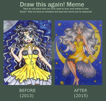 Draw this again MEME by YumemiArts