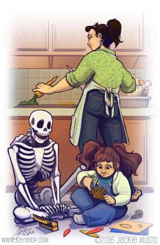Family Holidays by Jackie-M-Illustrator