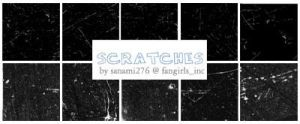 Scratch brushes by Sanami276
