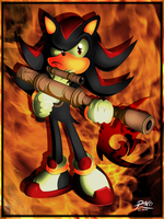 Shadow the Hedgehog by R-no71