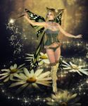 Magic of the Daisies by RavenMoonDesigns