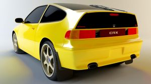 Honda CRX by cmbl72
