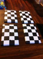 Checkered Flag Light Plates by Destinyknights