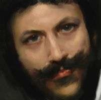 Sargent study by moonxels