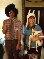 Part 4 of Halloween as Fionna the Human by InceptionErection
