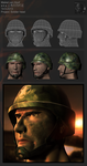 3D soldier head_Final presentation by Laggtastic