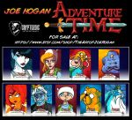 Cryptozoic - Adventure Time Season 1 - 4 For Sale! by JoeHoganArt