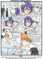 hichidaruki:stalking ichiruki by noodlemie