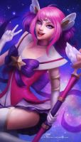 Star Guardian Lux by Kittrix