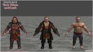 Dragon Age II: Varric Tethras Model Pack by Berserker79